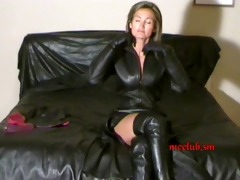 Free leather porn