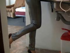 heels on